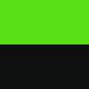 schwarz / neon grün