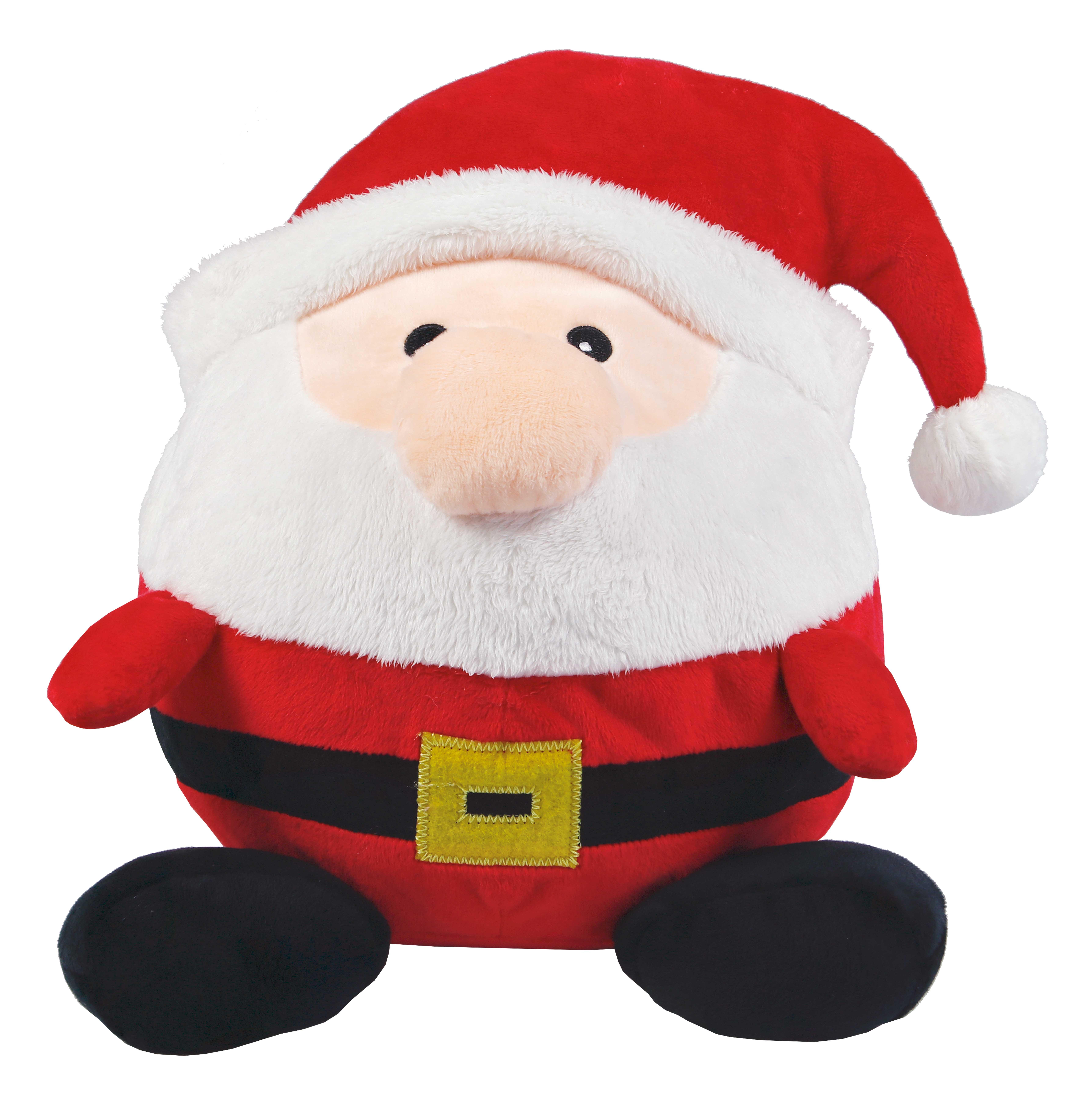 Plüschball Weihnachtsmann